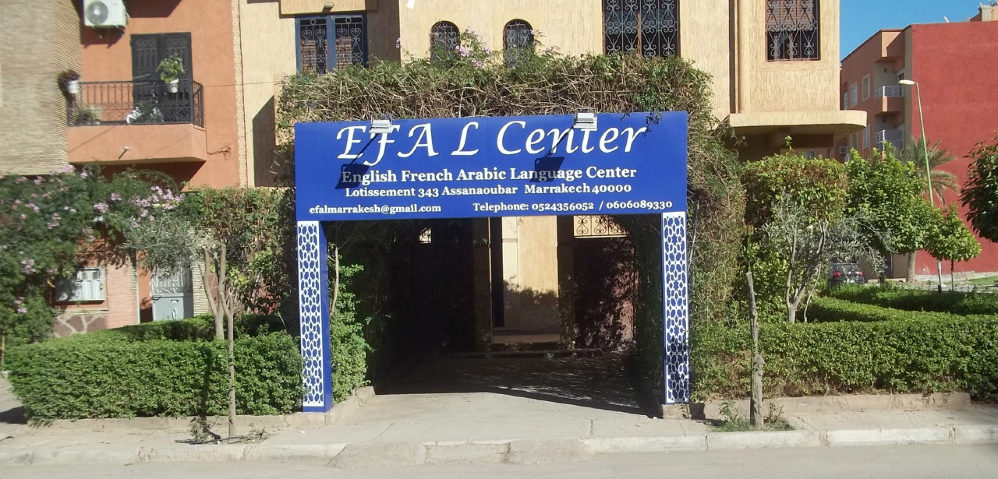 EFAL Center Marrakesh English Language Program
